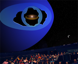 Initial Concept Illustration for IBEX Planetarium Show